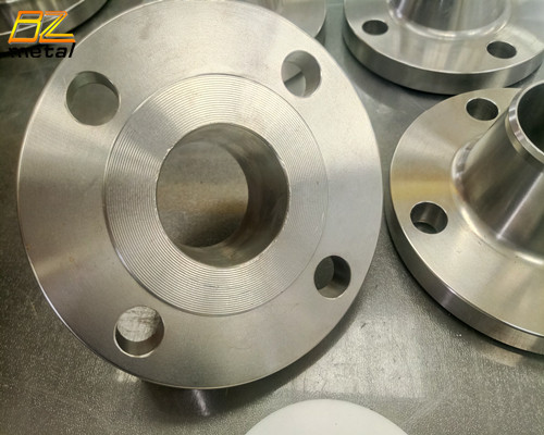 Titanium Flanges and pipe fittings