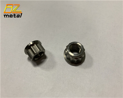 12 Point Titanium Flange Nuts