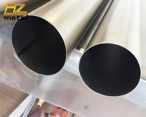 Titanium Gr2 large diameter thin-walled welded pipe in stock