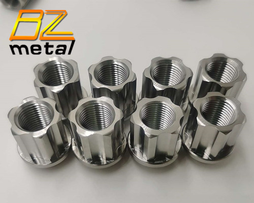 Gr5 M12*1.5 M14*1.5 Titanium wheel bolts lug nuts color nuts for racing car